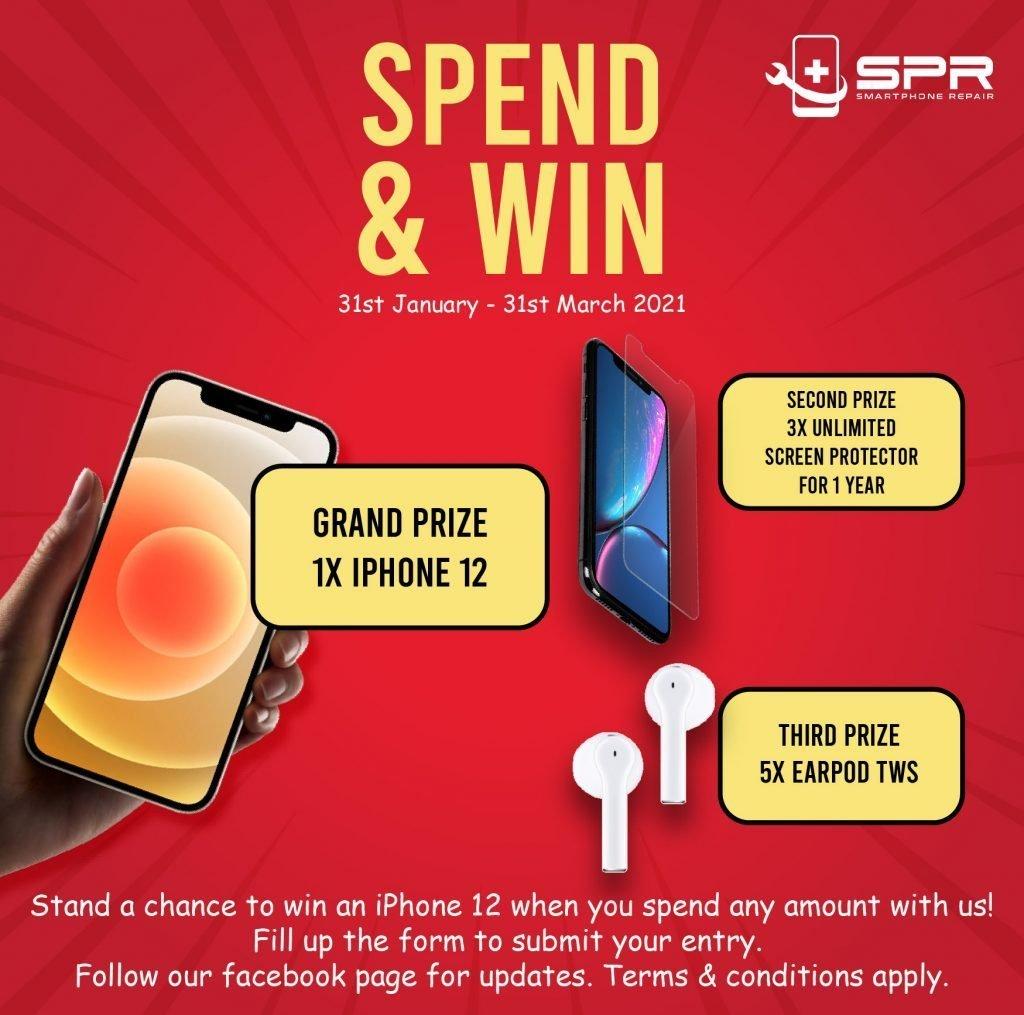 repair & win iphone 12