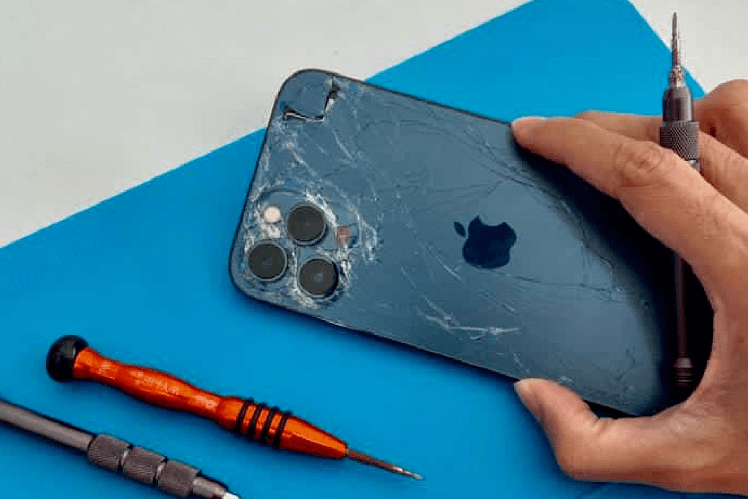 phone screen glass crack repair