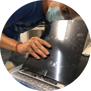 ipad screen crack repair