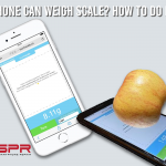 how to use iphone as weigh scale