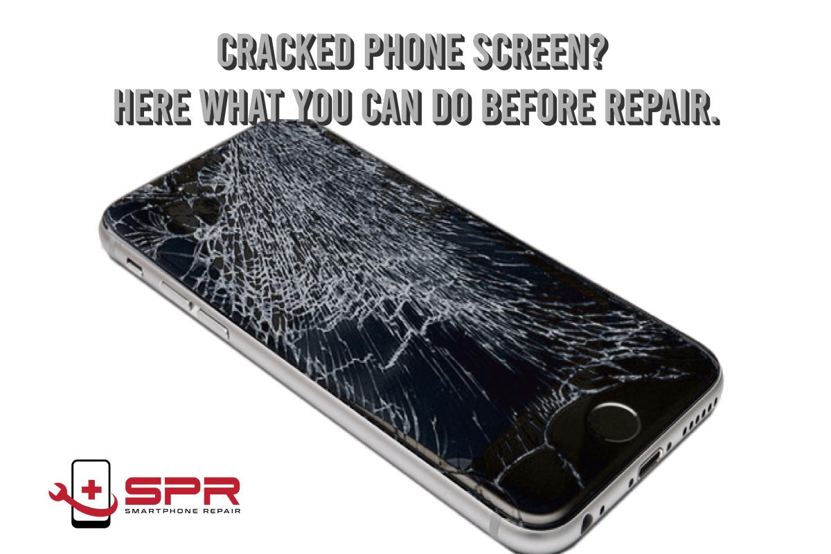 how to fix broken screen phone