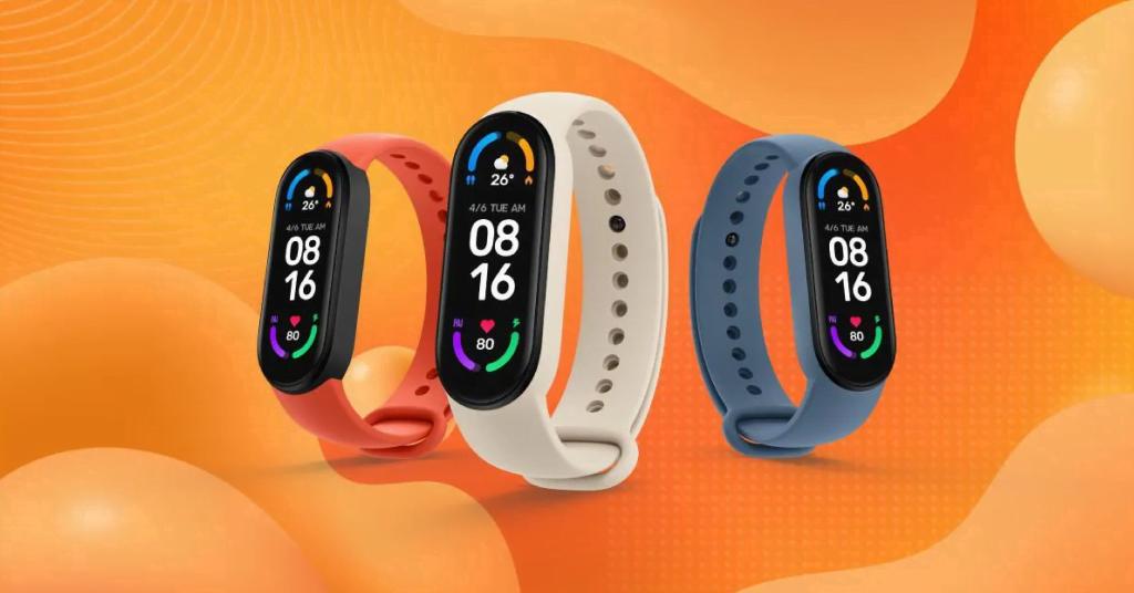 Xiaomi Smartwatch Mi band 6